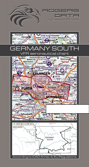 Rogers Data - Germany South VFR Chart