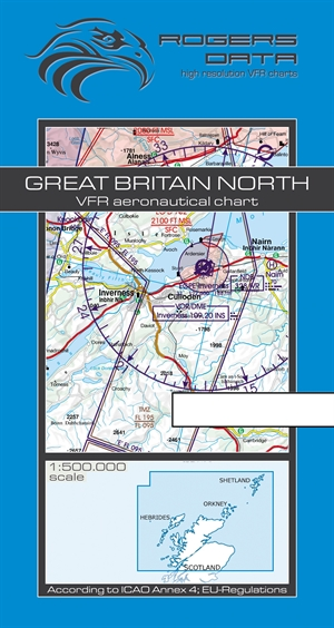 Rogers Data - Great Britain North VFR Chart