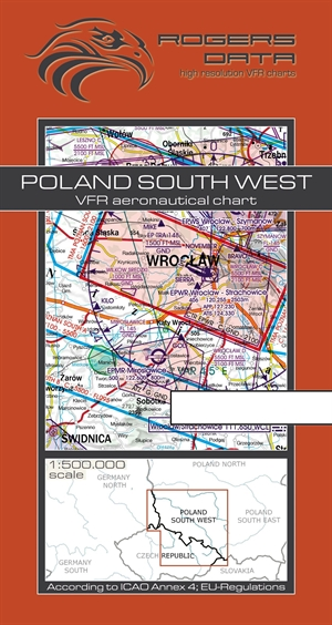 Rogers Data - Poland South West VFR Chart