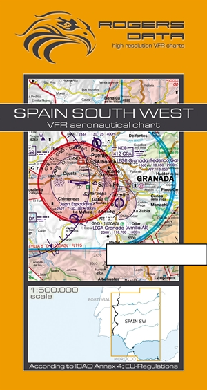Rogers Data - Spain South West VFR Chart